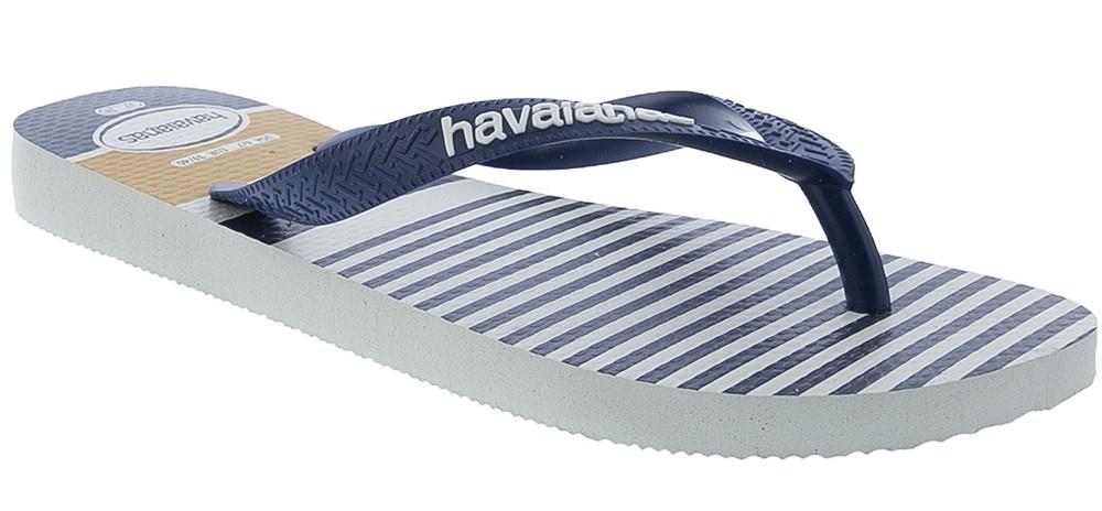 Chinelo Havaianas Masculino Top Nautical Listras - 1011121