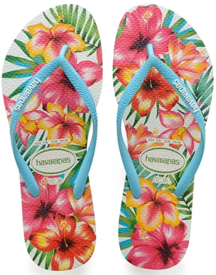 Chinelo Havaianas Slim Hibisco Casual - 1144