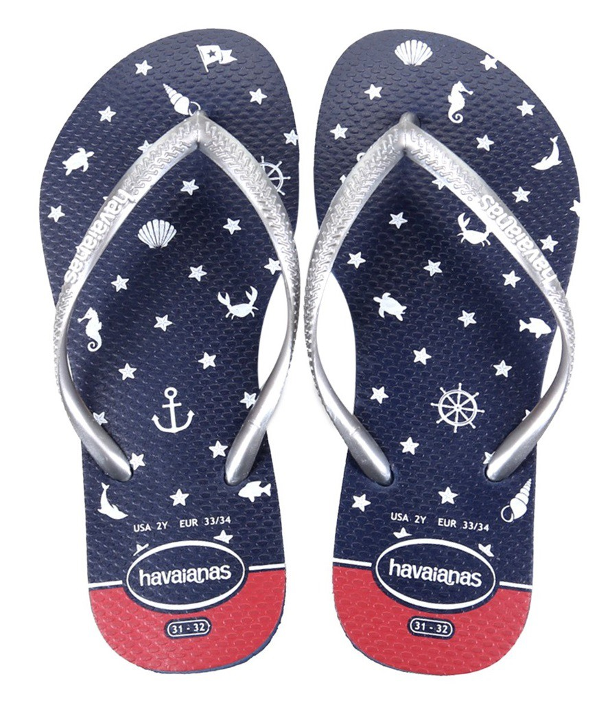 Chinelo Havaianas Slim Nautical Feminino - 105921