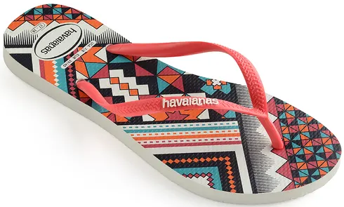 Chinelo Havaianas Slim Tribal Casual - 1084A
