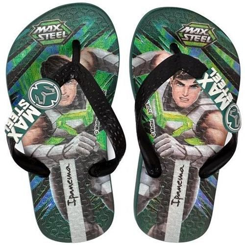 Chinelo Ipanema Infantil Masculino Max Steel - 26048