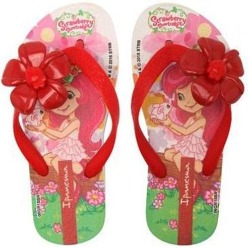 Chinelo Ipanema Infantil Moranguinho Buble IV - 25510
