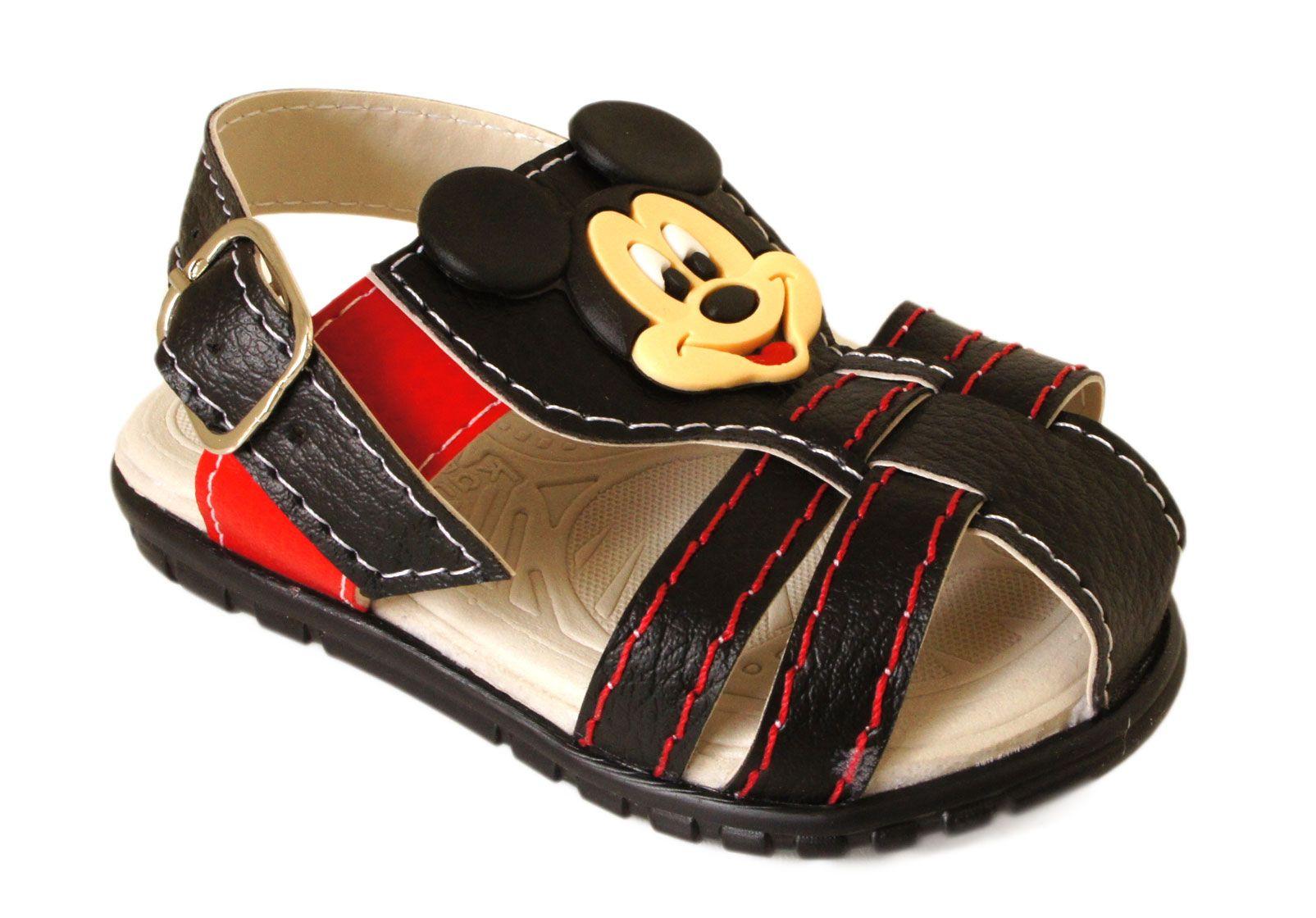 Sandalia Infantil Kaua Baby Mickey - BL371