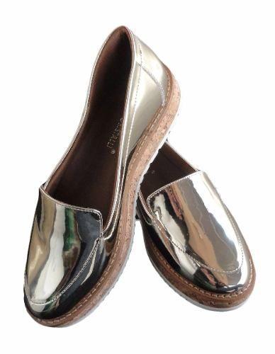 Sapato Di Cristalli Slip Curtiça Salto 3 Cm - 2417808