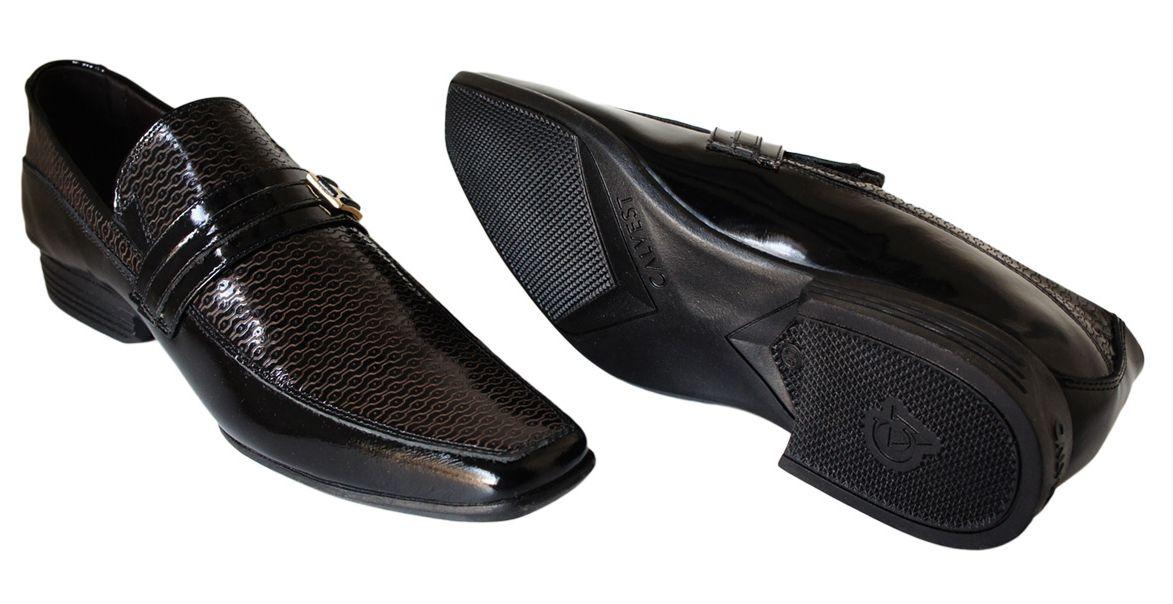 Sapato Calvest Fivela Detalhe Verniz - 3170C479