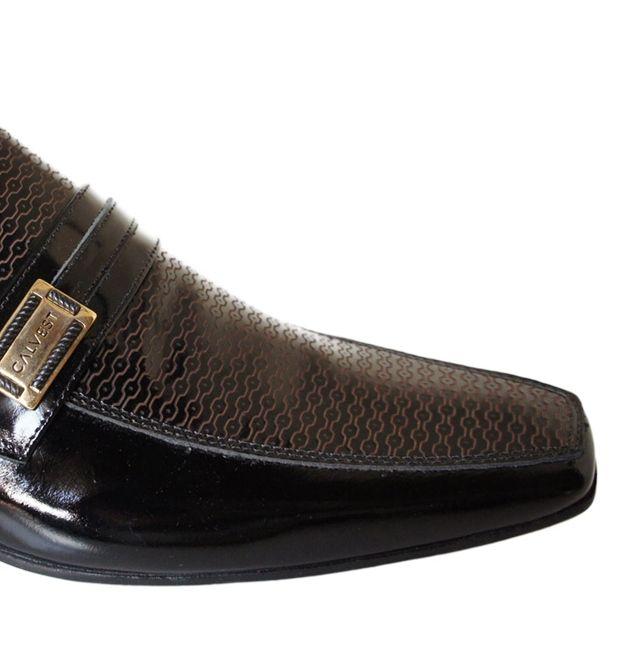 bcc24e5c8 Sapato Calvest Fivela Detalhe Verniz - 3170C479 - Celeste Calçados