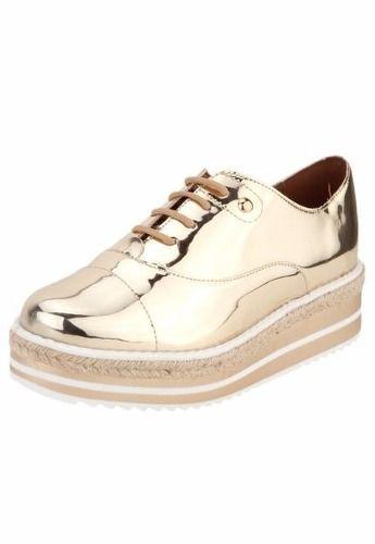 Sapato Oxford Vizzano Salto 3,5 Cm - 1241100