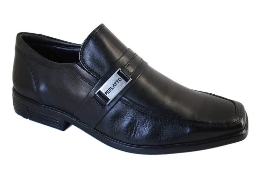 Sapato Perlatto Social Bico Quadrado - 66096609