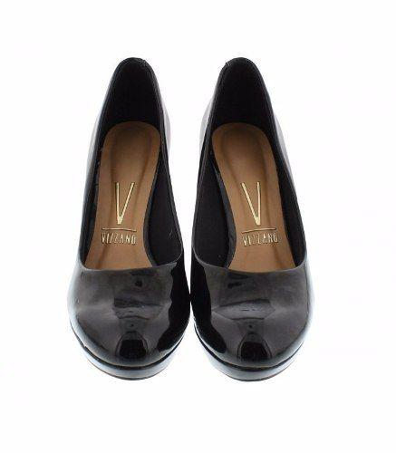 Sapato Scarpin Vizzano Verniz Salto 9,0 Cm - 1200101