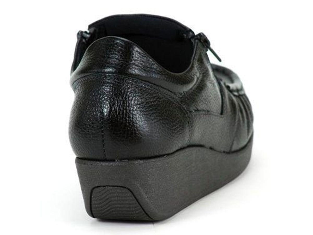 Sapato Usaflex Ziper Anatomico Ortopedico - 5766