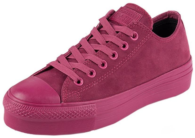 Tenis Converse All Star Salto 3,5 Cm Flat Form Camurca - CT0695000