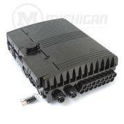 Caixa de atendimento fibra 16 portas MB216 sangria