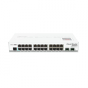 Mikrotik CRS226-24G-2S+IN Cloud Router Switch Layer 3 2 SFP Case metal desktop