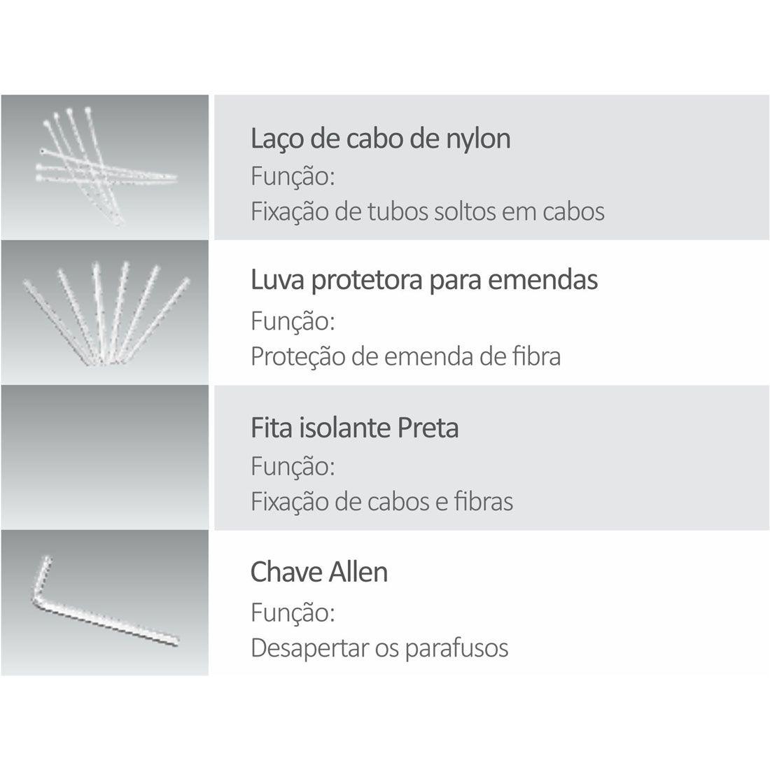 Caixa de Distribuição óptica CTO FDP-420A-8