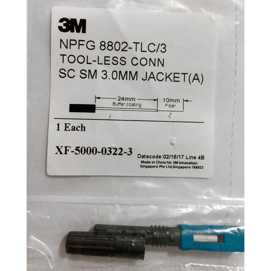 Conector Mecânico 3M 3.0 SC-UPC Reutilizável