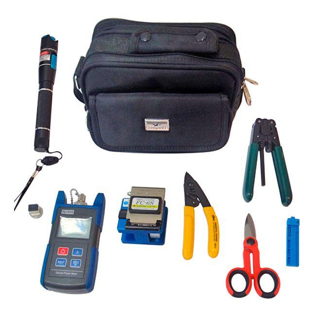 Kit de Manutenção FTTH 1 Easy4Link 8 peças