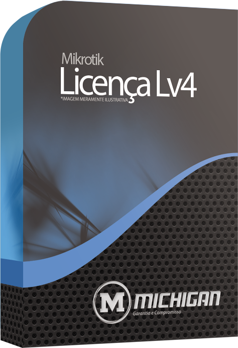 Licença Software Mikrotik nivel 4 - RouterOS Level 4