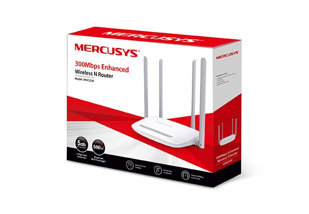 MW325R - Roteador Wireless N MERCUSYS 300Mbps
