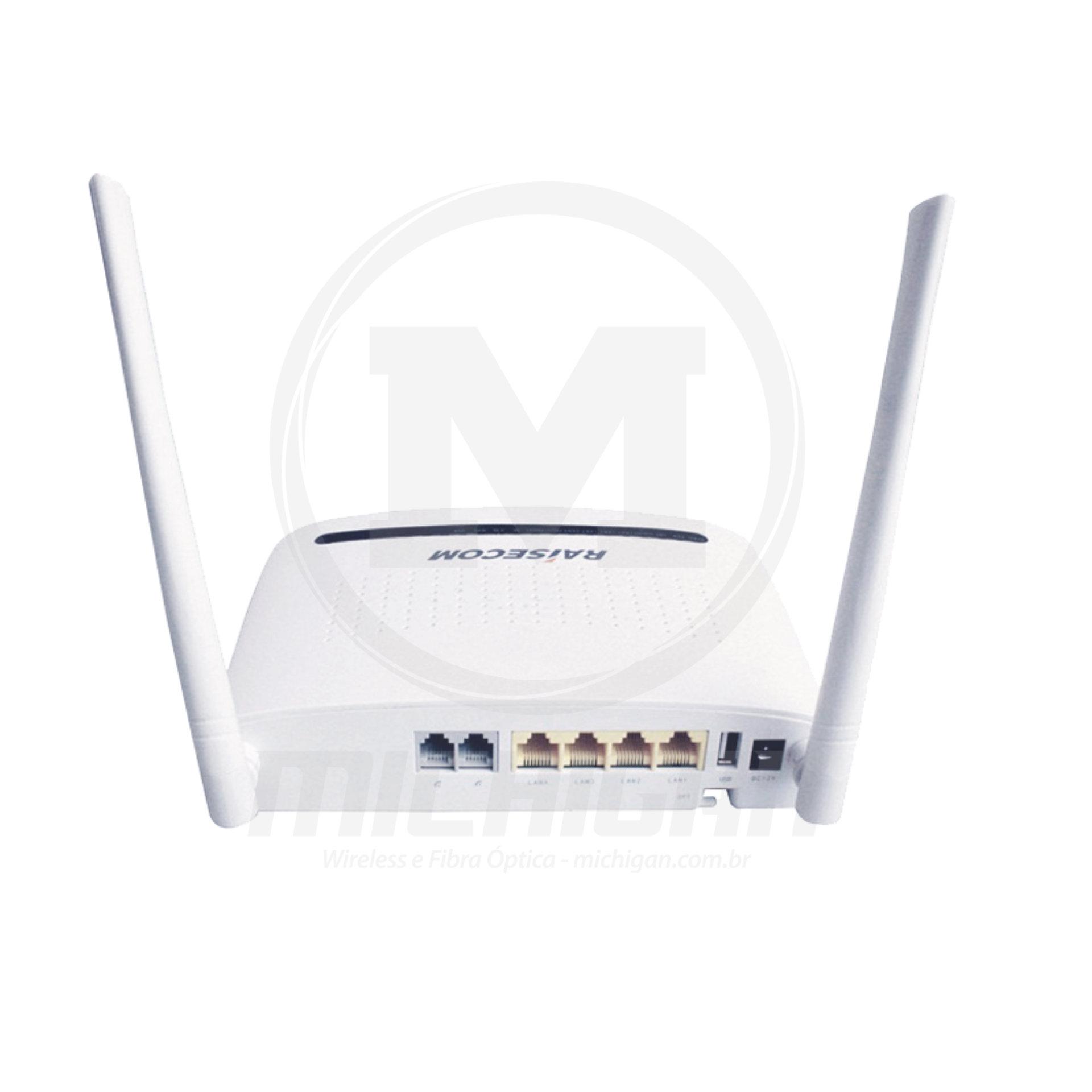 Onu Gpon HT803G (4 portas gbe + wifi)