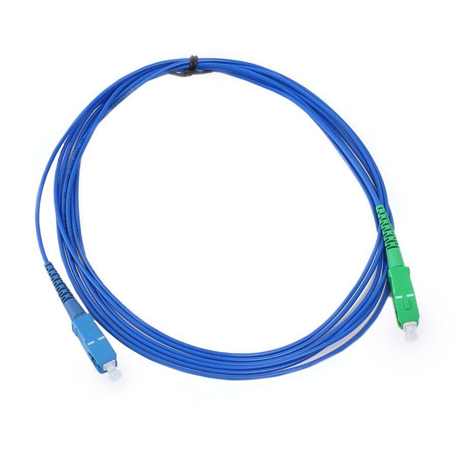 Cordão Óptico SC-UPC SC-APC Simplex SM 3.0mm 2,5mt
