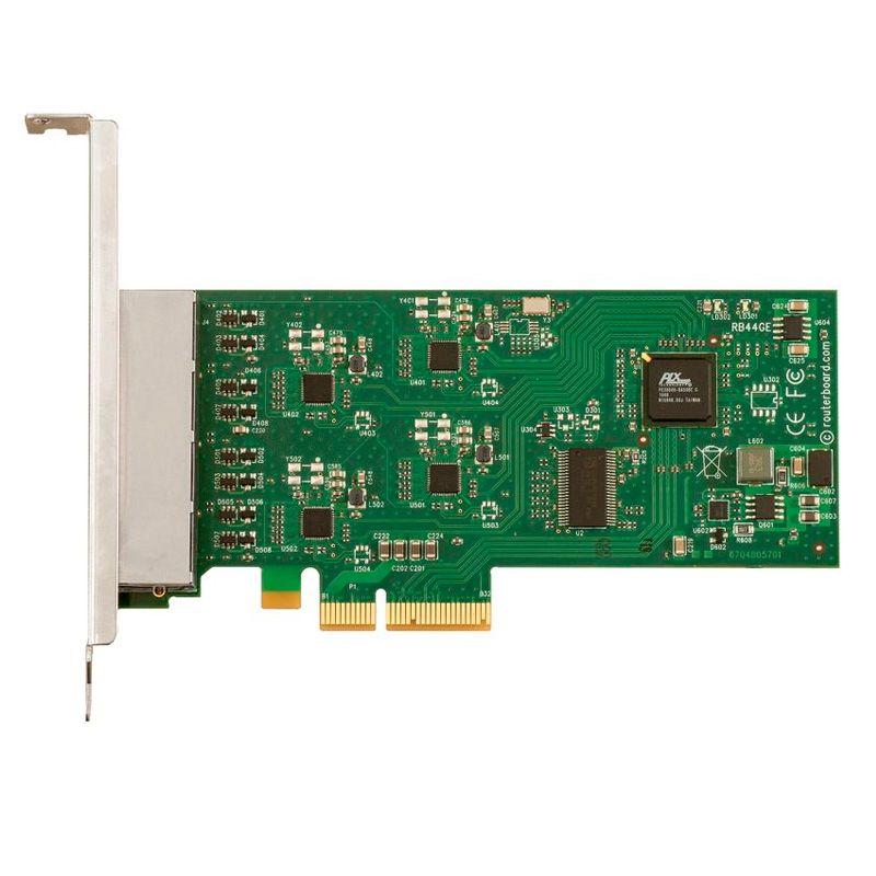 Placa PCIe 4X Mikrotik RB44Ge