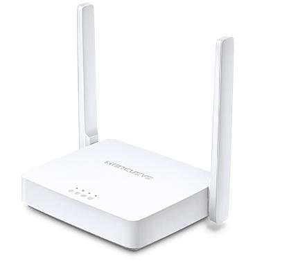 Roteador MW301R MERCUSYS Wireless 300Mbps 5dbi 02 Antenas