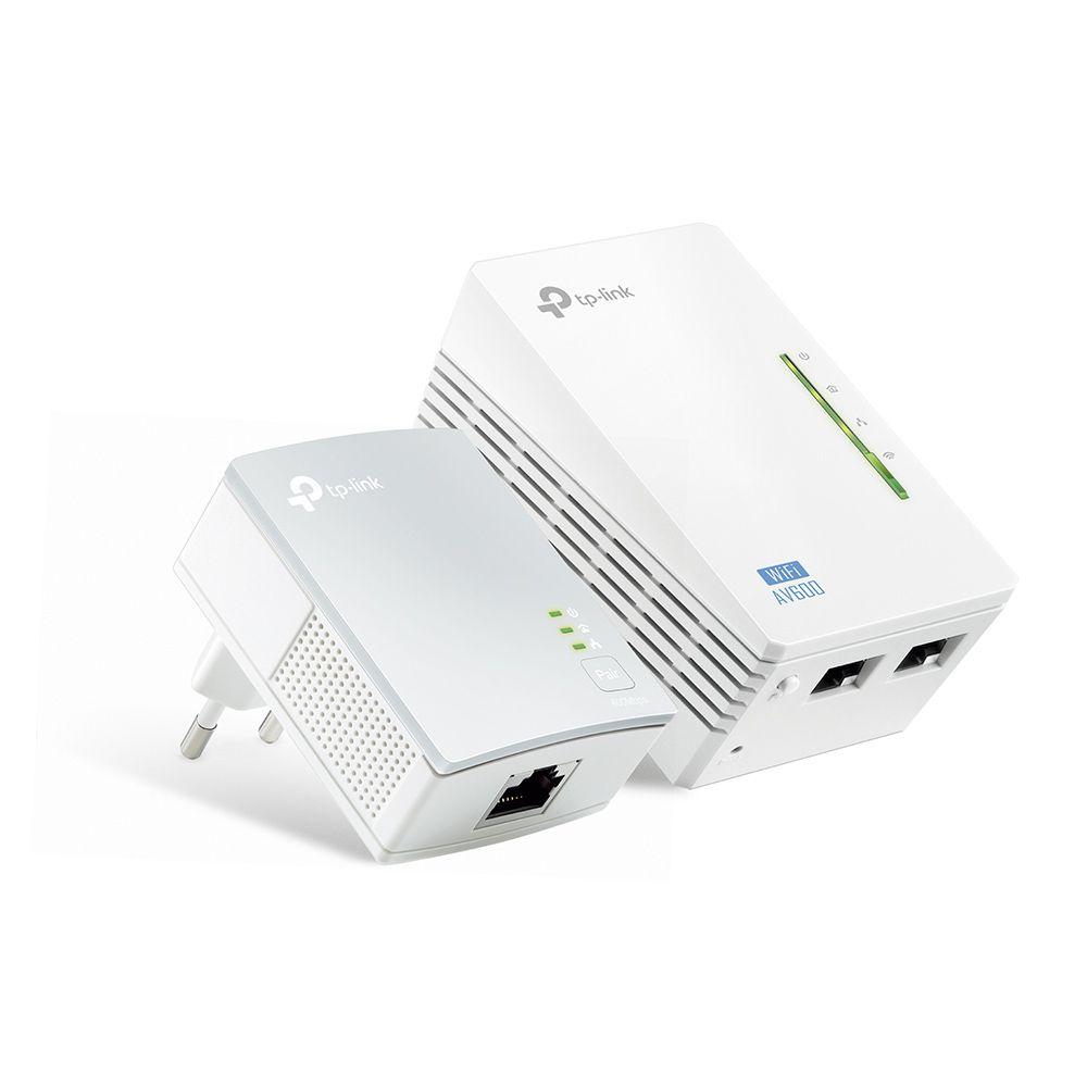 TP-LINK TL-WPA4220/4010  kit av600 Powerline Wifi (PAR)