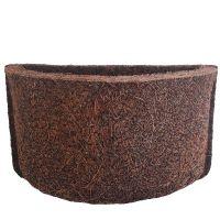 Meio Vaso 17 Com Placa Pequena de Fibra de Coco - COQUIM