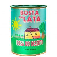 Adubo Orgânico Fertilizante para Rosa do Deserto - Bosta em Lata 500g
