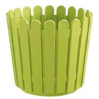 Vaso Quadrado Landhaus 38 x 31 cm Verde