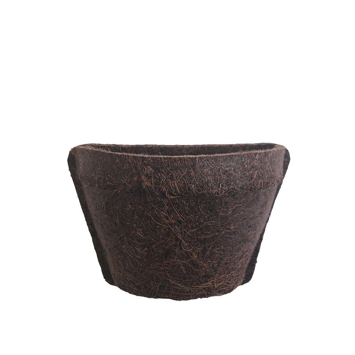 Meio vaso 10 com placa pequena COQUIM