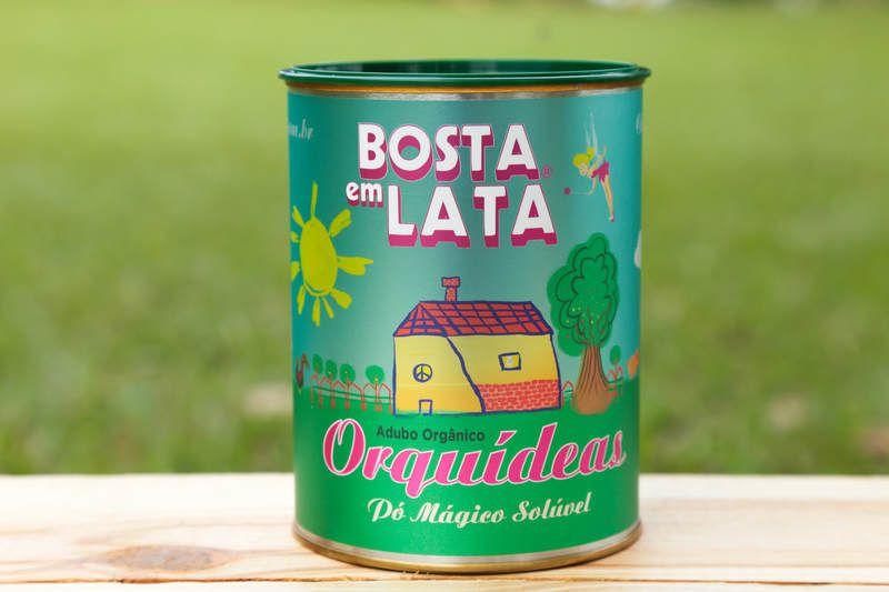 Adubo Orgânico para Orquídeas - Bosta em Lata 400g
