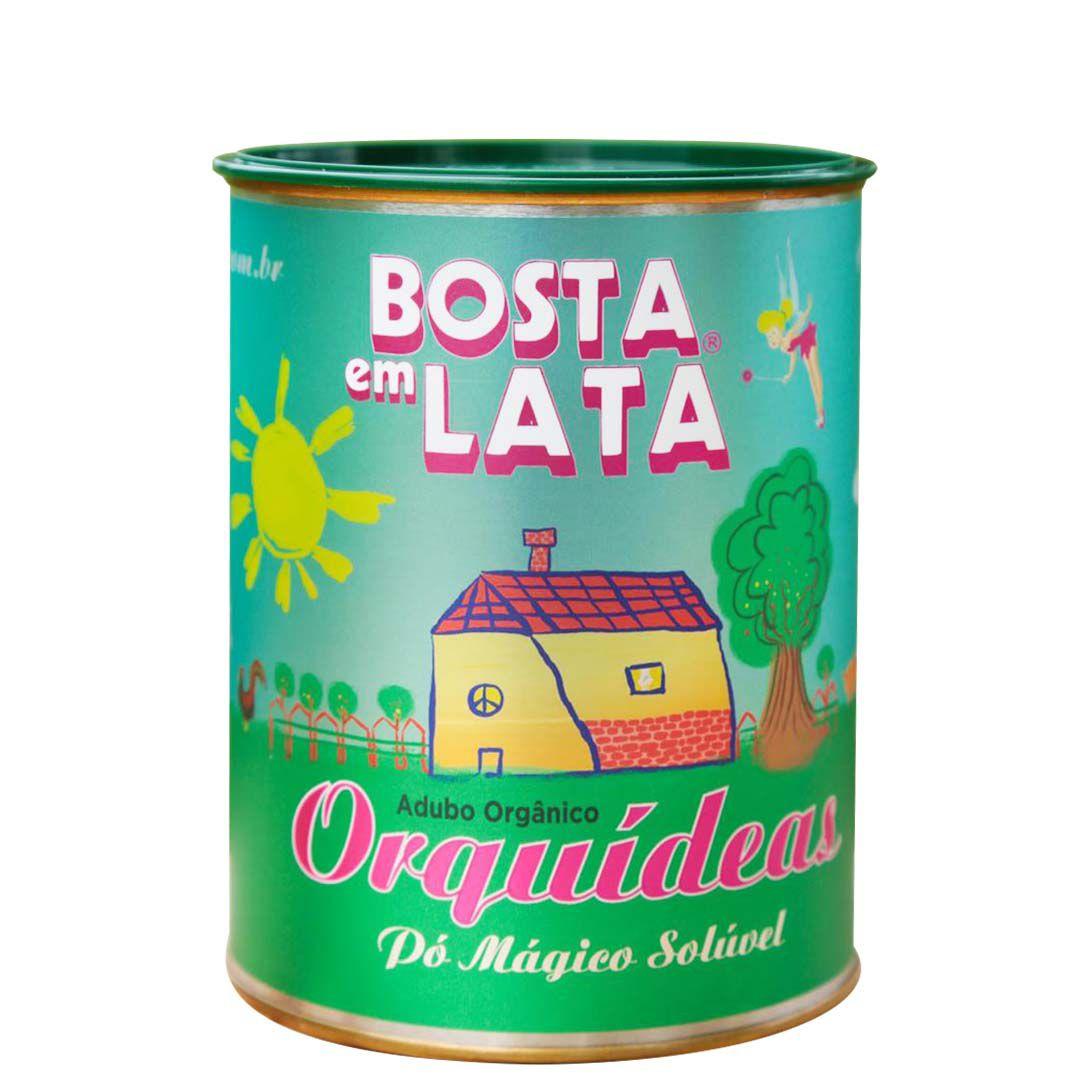 Adubo Orgânico Fertilizante para Orquídeas - Bosta em Lata 400g
