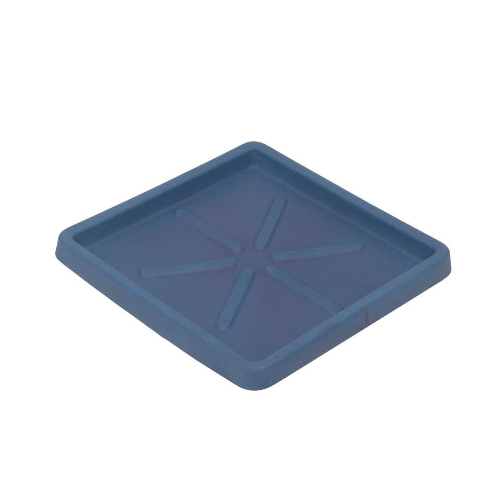 Base Quadrada 25 x 3 cm Azul Vietnamita Vasart