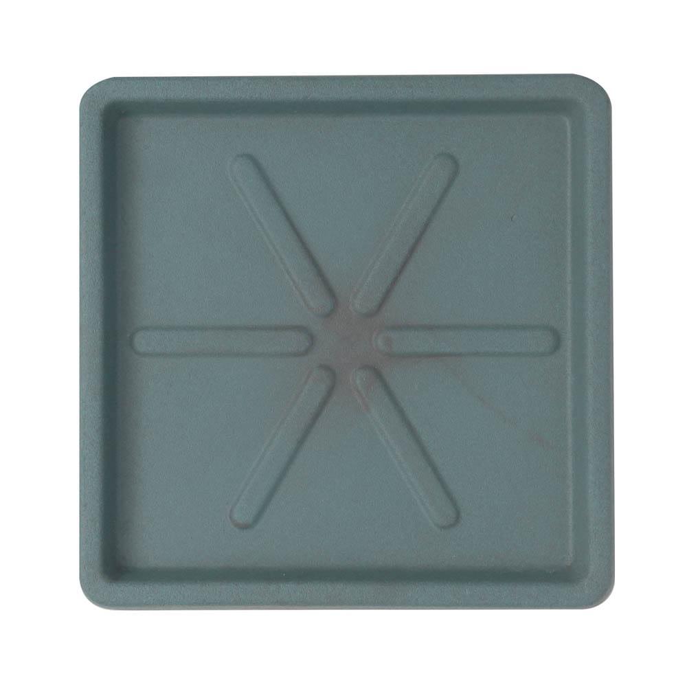 Base Quadrada 25 x 3 cm Vietnamita Jade Vasart