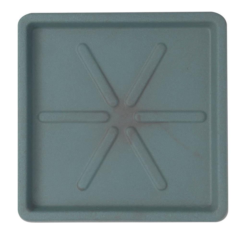 Base Quadrada 30 x 3 cm Vietnamita Jade Vasart