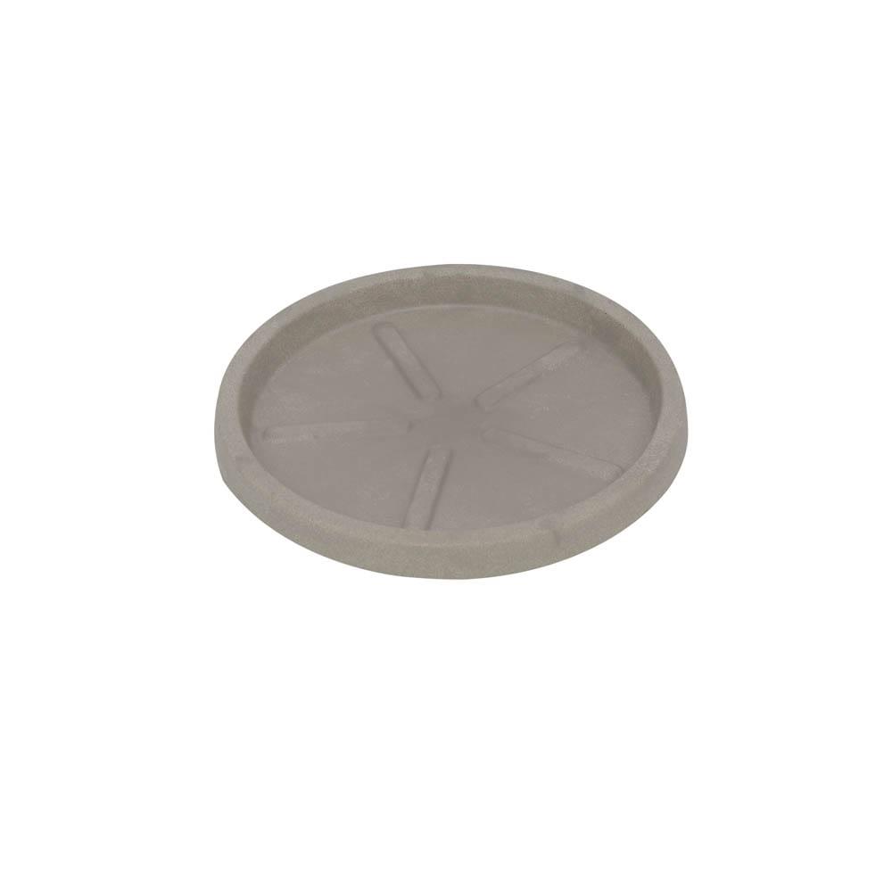 Base Redonda 20 x 3 cm Concreto Marmorizado Vasart