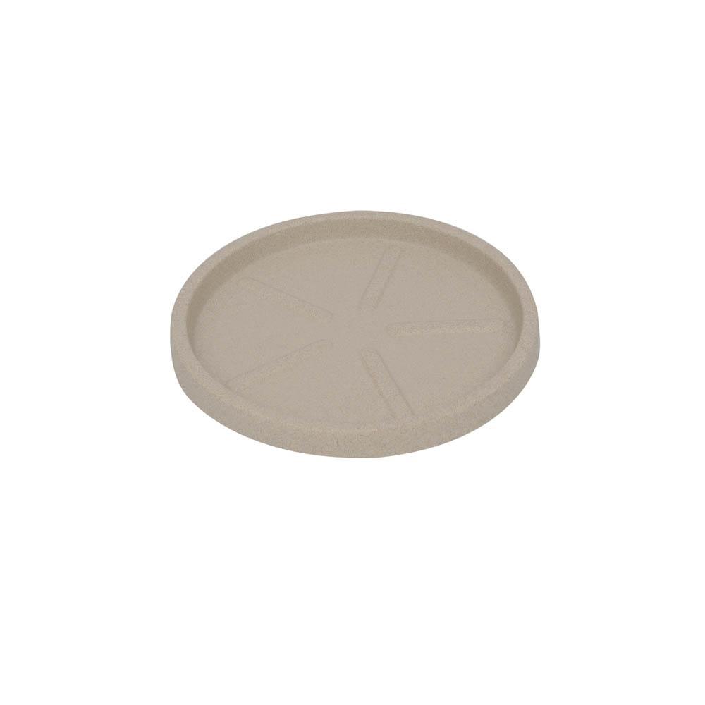 Base Redonda 20 x 3 cm Granito Areia Vasart