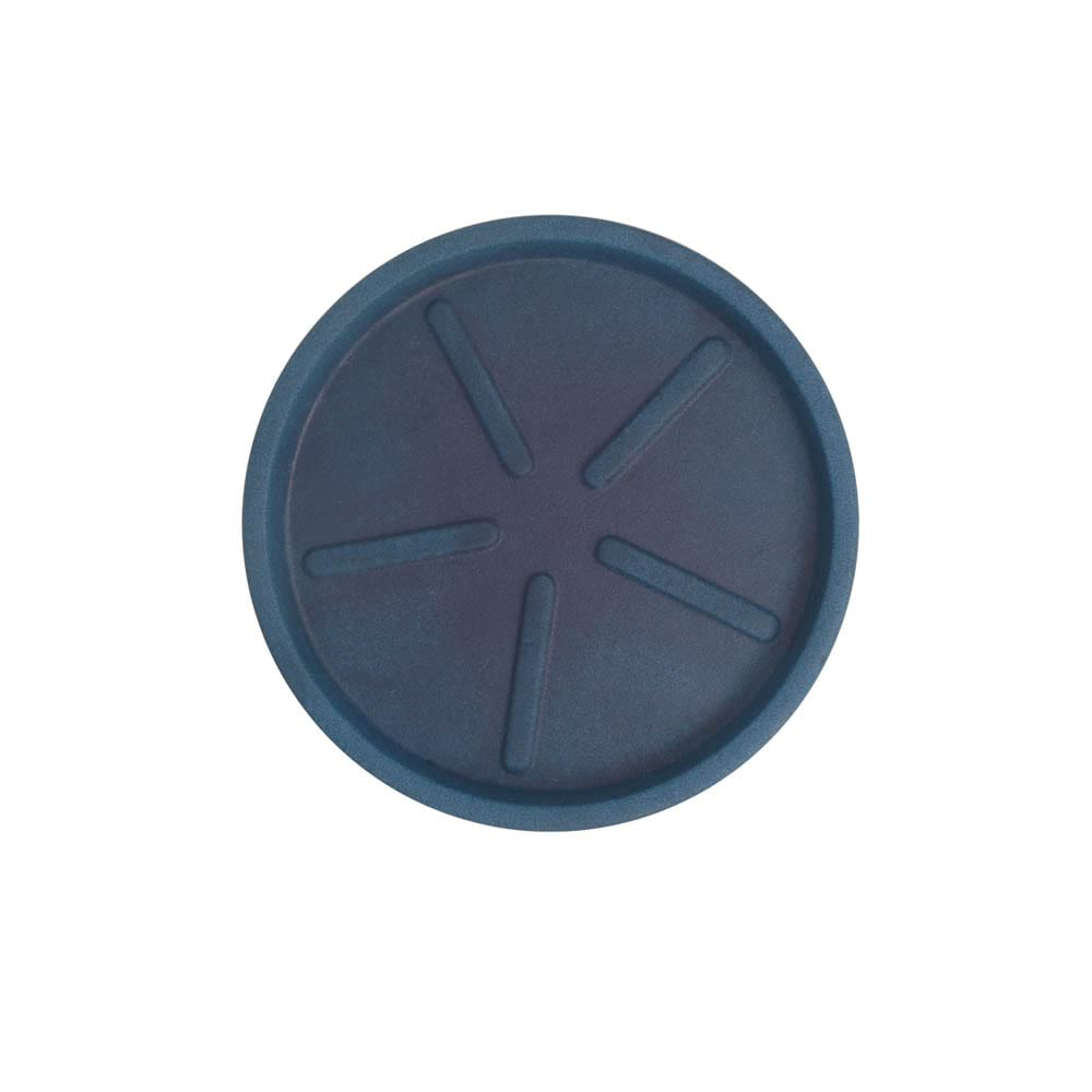 Base Redonda 24 x 3 cm Azul Vietnamita Vasart