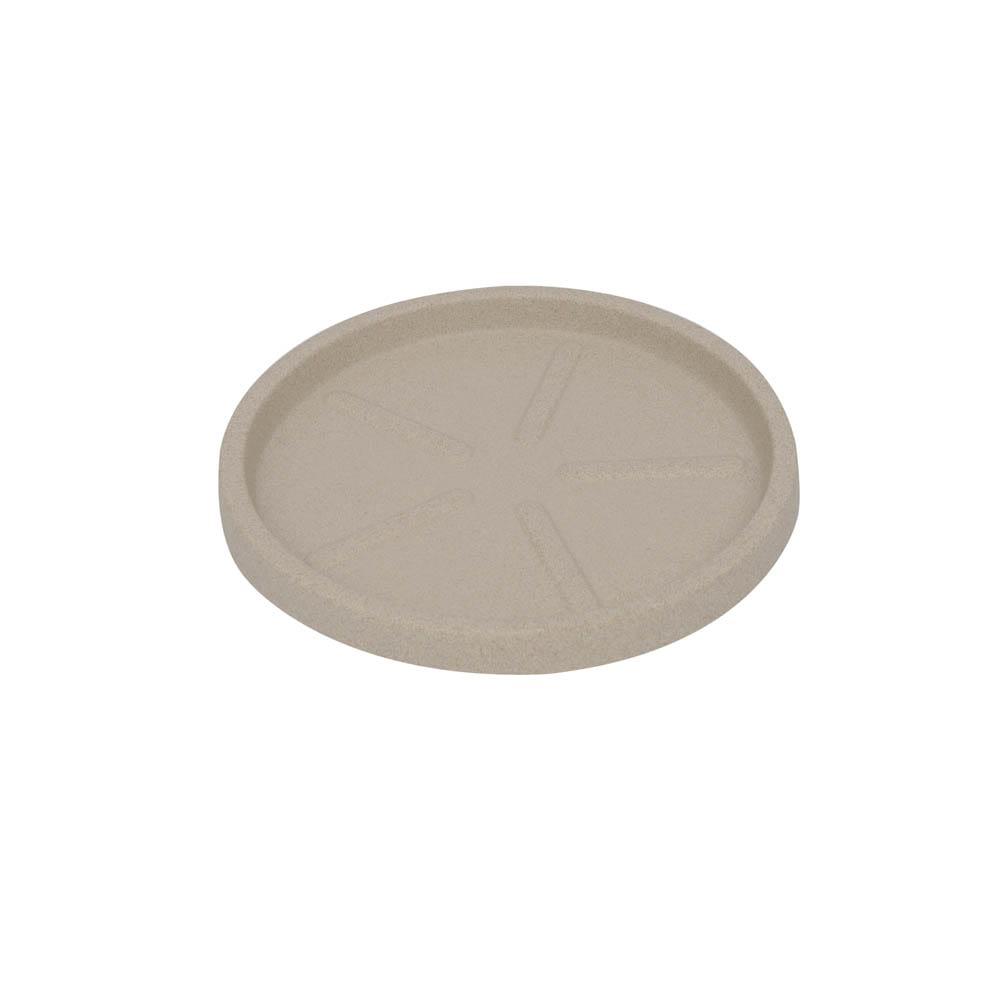 Base Redonda 24 x 3 cm Granito Areia Vasart