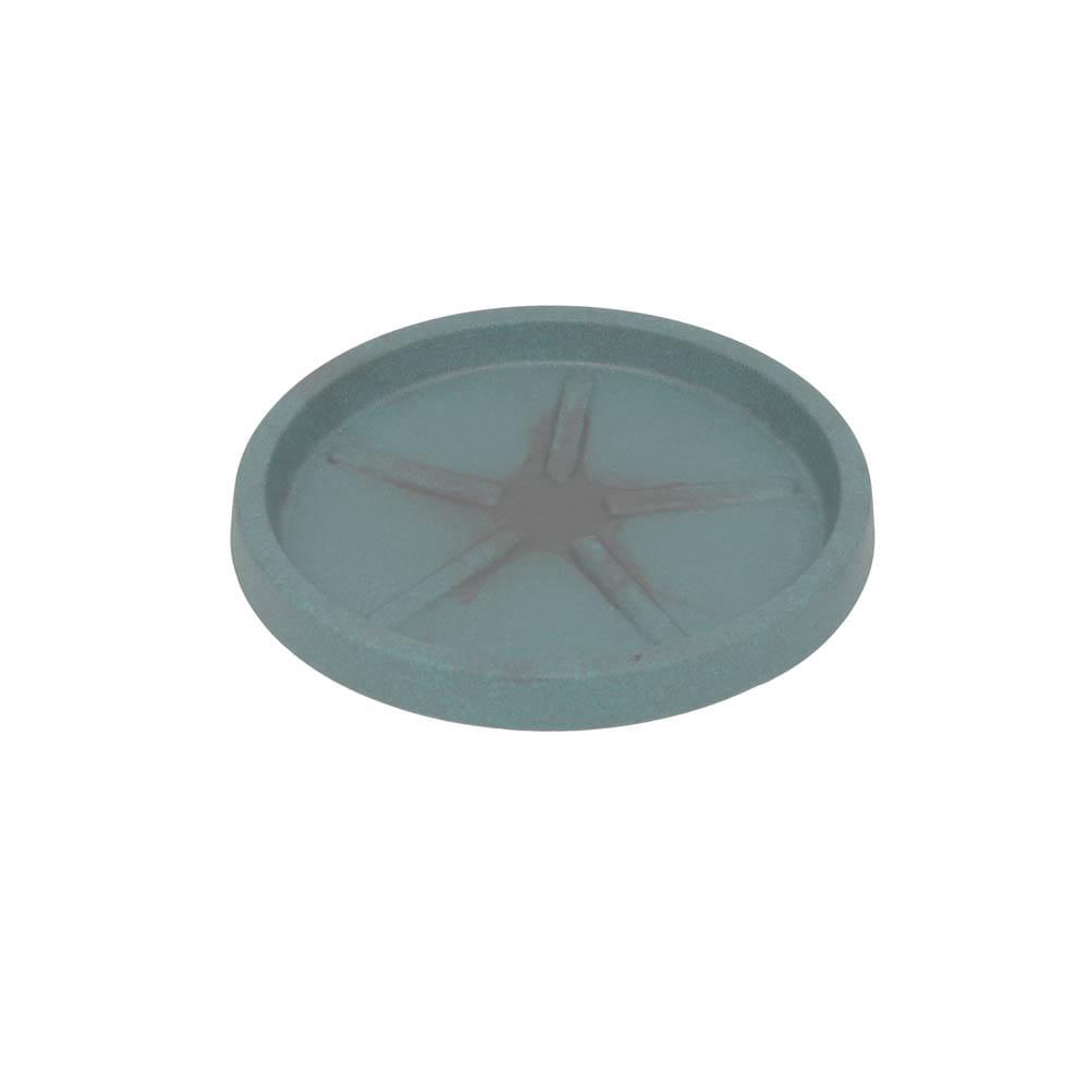 Base Redonda 24 x 3 cm Vietnamita Jade Vasart