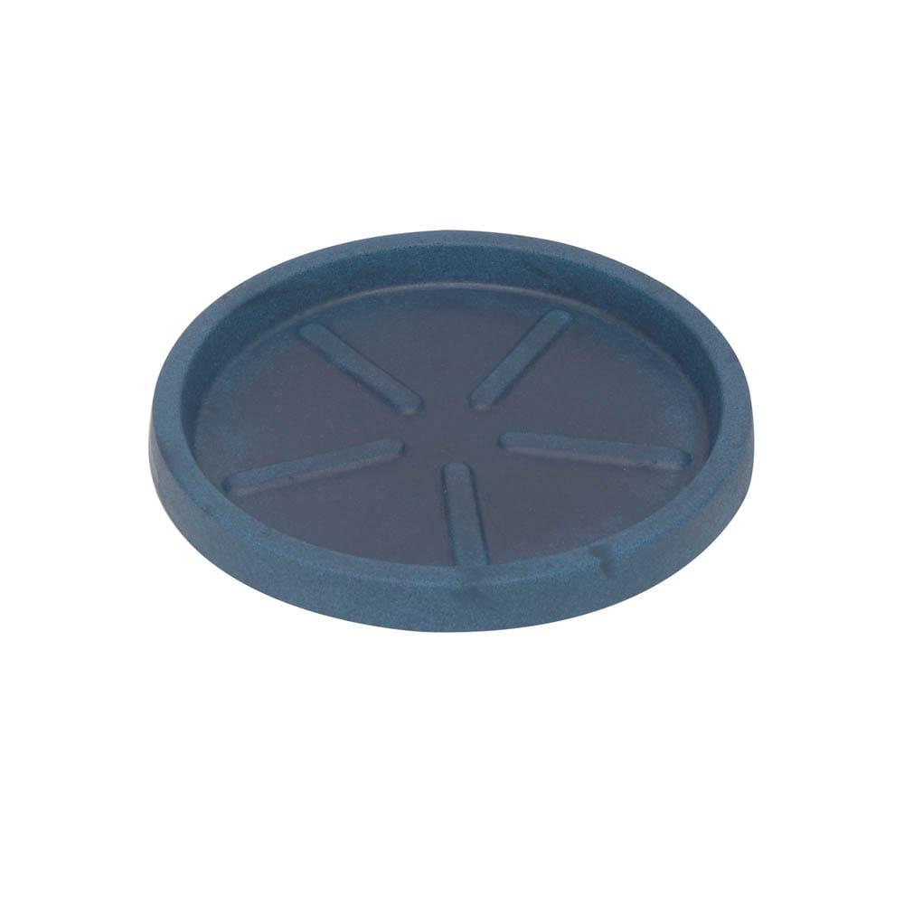 Base Redonda 28 x 3 cm Azul Vietnamita Vasart