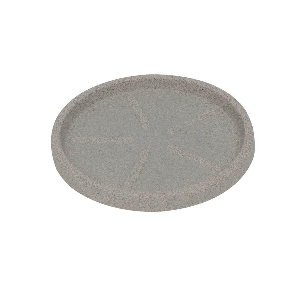 Base Redonda 28 x 3 cm Granito Pedra Vasart