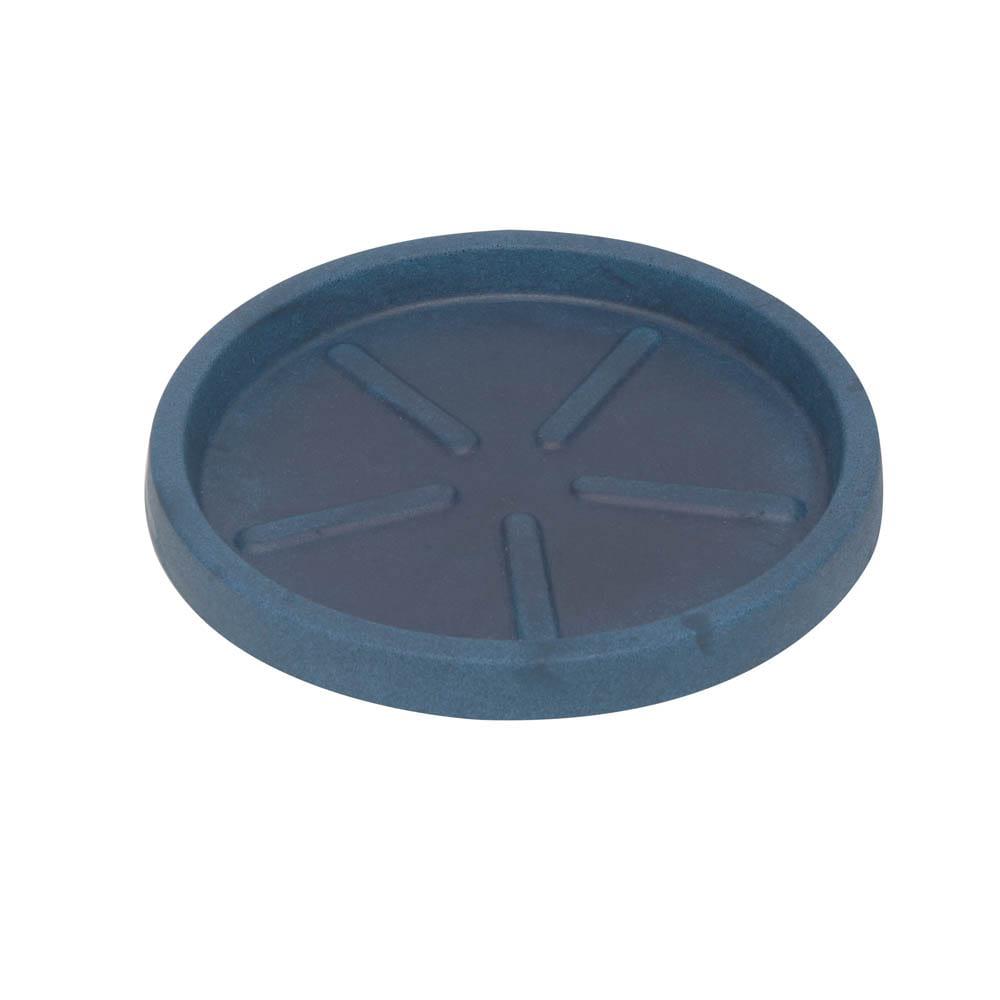 Base Redonda 32 x 3 cm Azul Vietnamita Vasart