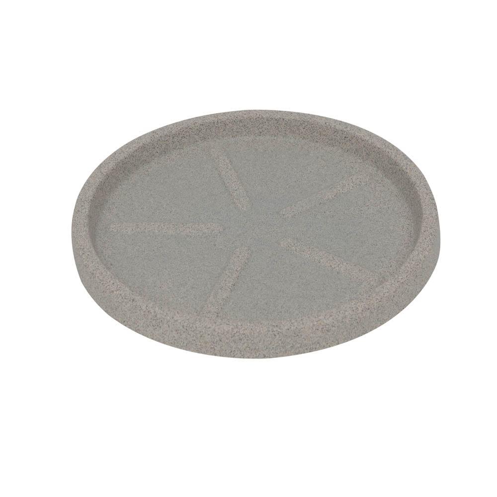 Base Redonda 32 x 3 cm Granito Pedra Vasart