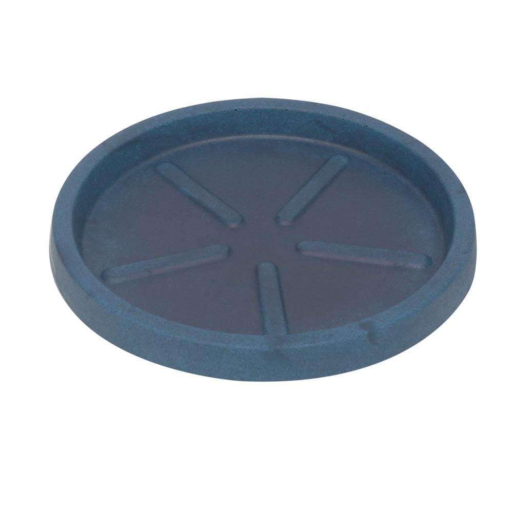 Base Redonda 36 x 3 cm Azul Vietnamita Vasart