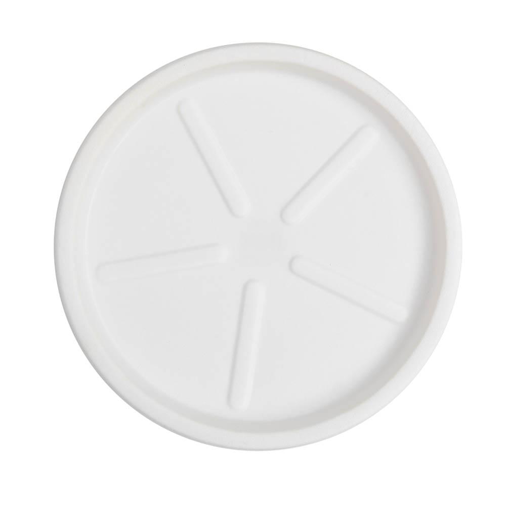Base Redonda 36 x 3 cm Branco Vasart