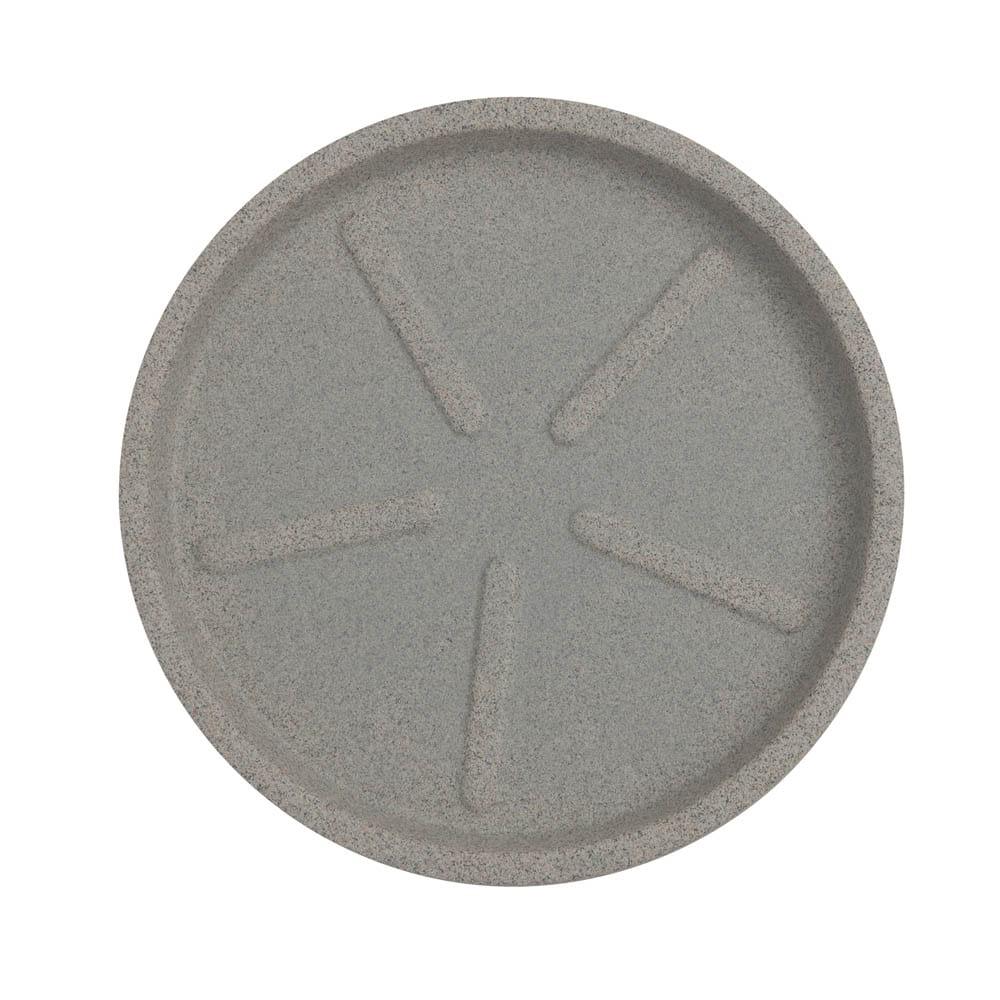 Base Redonda 36 x 3 cm Granito Pedra Vasart