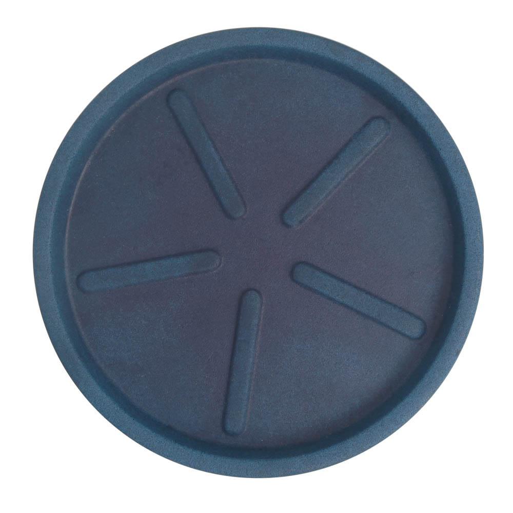 Base Redonda 40 x 3 cm Azul Vietnamita Vasart