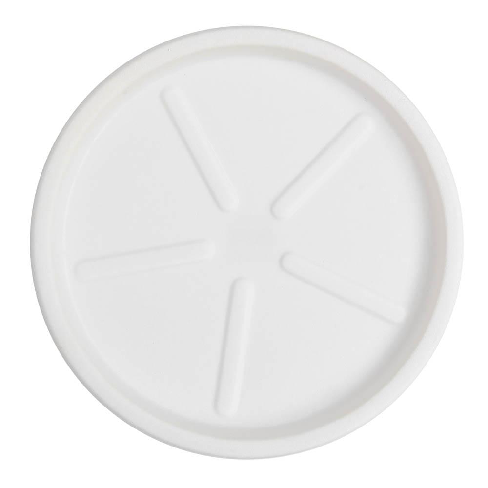 Base Redonda 40 x 3 cm Branco Vasart
